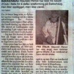 2006 norwegian newspaper