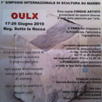 2010 official poster oulx